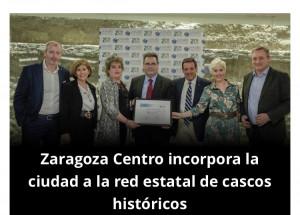 Felicitamos a la Agrupación Empresarial Zaragoza Centro