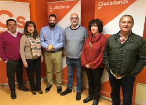 Reunión de Trabajo con la Cúpula de Ciudadanos