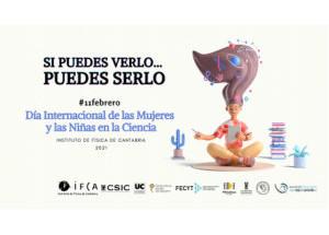 El Casco Viejo de Santander con  el Día Internacional de las Mujeres y las Niñas en la Ciencia.