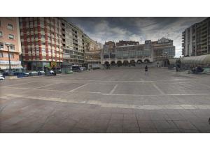 Asociaciones de comerciantes, empresarios, hosteleros y vecinos apoyan la creación de un gran aparcamiento en altura, sobre la Estación de Autobuses