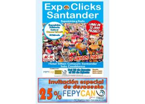 La Asociación de Comerciantes del Casco Viejo de Santander colabora con un 25% descuento en la entrada, de la mayor 'Exposición de Playmobil, ExpoClicks Santander',