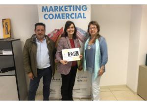 Entrega de premios sorteo 'Marketing Comercial'