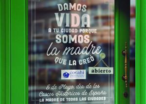 """Los comercios del Casco Viejo de Santander se suman al """"Día de los Cascos Viejos y Zonas Históricas de España"""""""