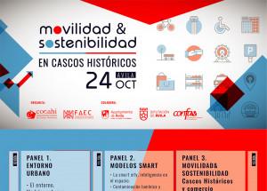 JORNADA MOVILIDAD & SOSTENIBILIDAD EN CASCOS HISTÓRICOS