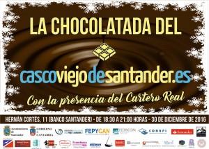 CHOCOLATADA EN EL CASCO VIEJO